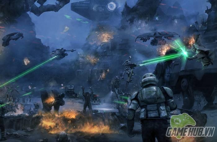Star Wars: Commander chào sân bản mở rộng World in Conflict siêu khủng