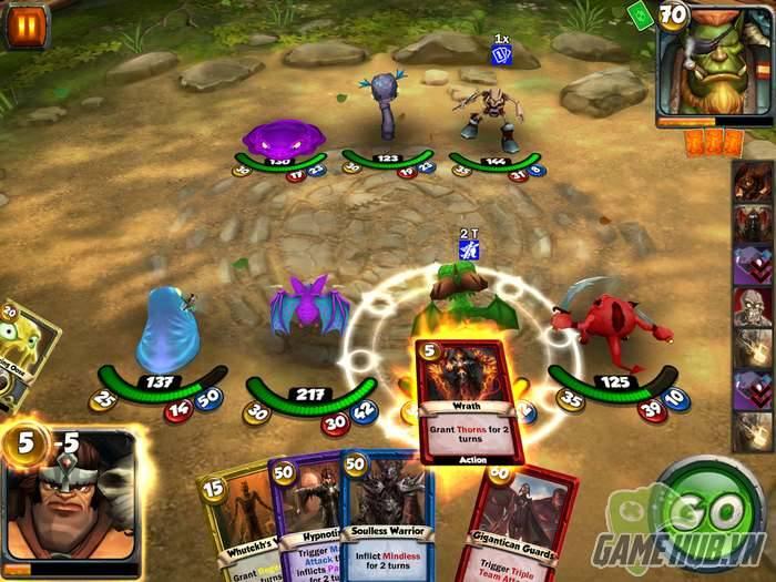 Card King: Dragon Wars - Siêu game Hearthstone biến hóa thành RPG