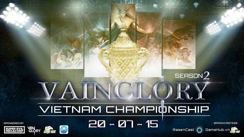[VVC2 Vainglory] Bốc thăm  Vainglory Việt...