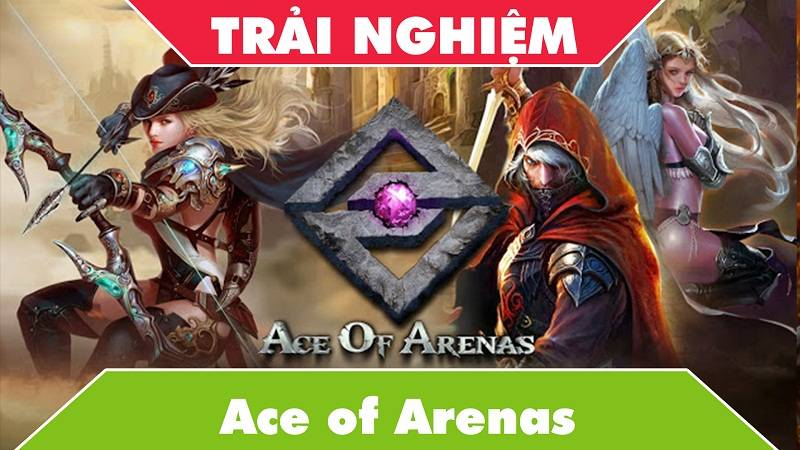 Trải nghiệm game MOBA Ace of Arenas - GAEA