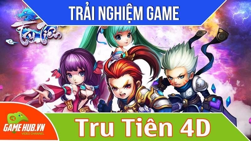 Trải nghiệm game MMORPG Tru Tiên 4D - Ingame