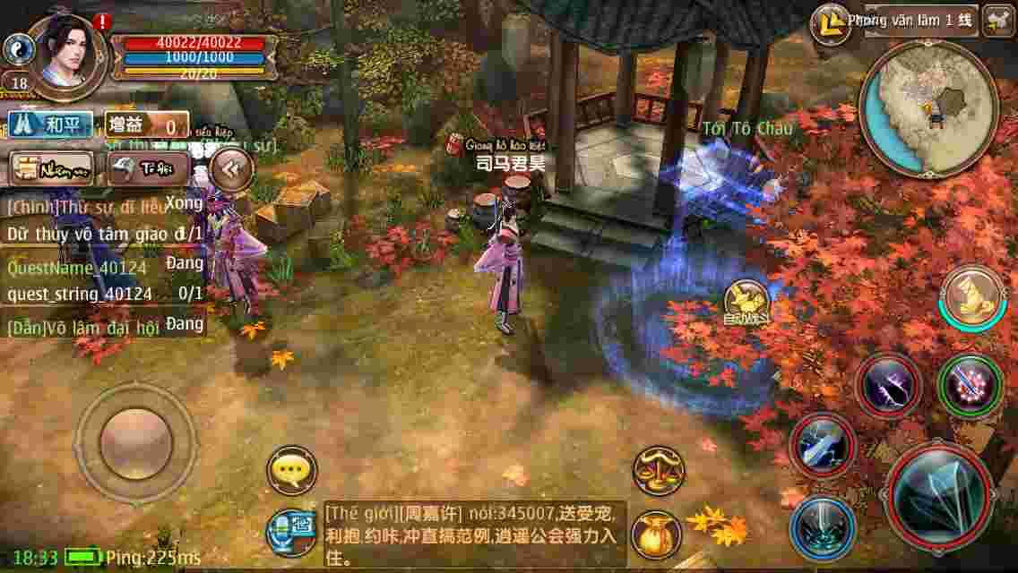 Hướng dẫn cài patch 2.0 bản Việt hóa Cửu Âm Chân Kinh Mobile