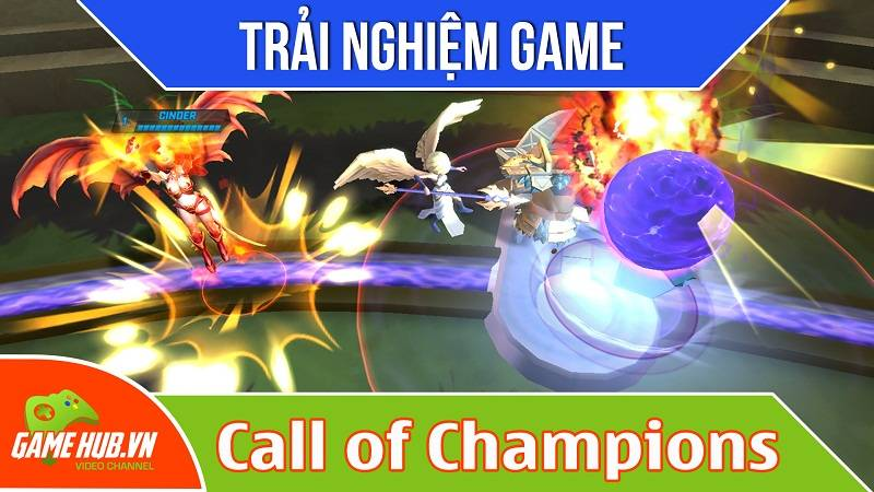 Trải nghiệm Game MOBA Call of Champions - Spacetime Studios