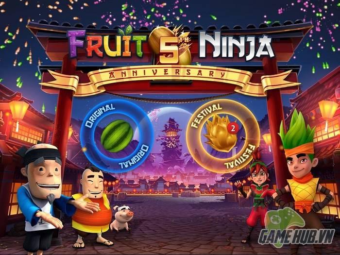 Fruit Ninja mừng sinh nhật 5 tuổi với 1 tỷ lượt tải về!