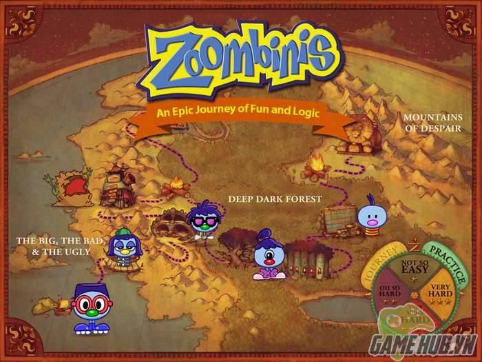 Zoombinis - Sự kết hợp hoàn hảo của RPG và Puzzle