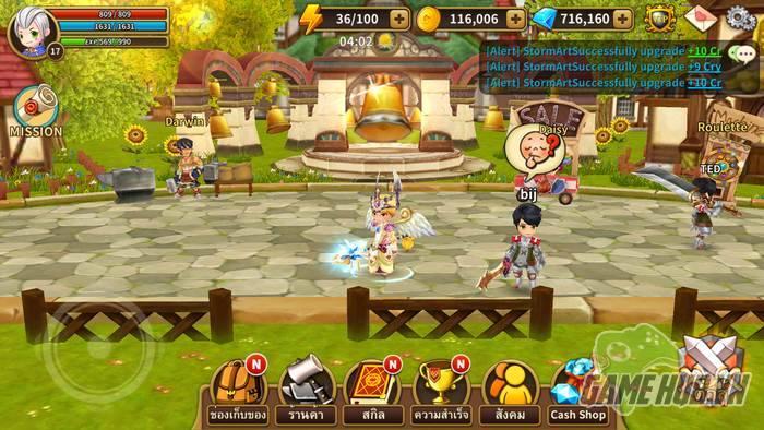 LINE Dragonica Mobile dễ dàng vượt ải Đông Nam Á với 1 triệu lượt tải