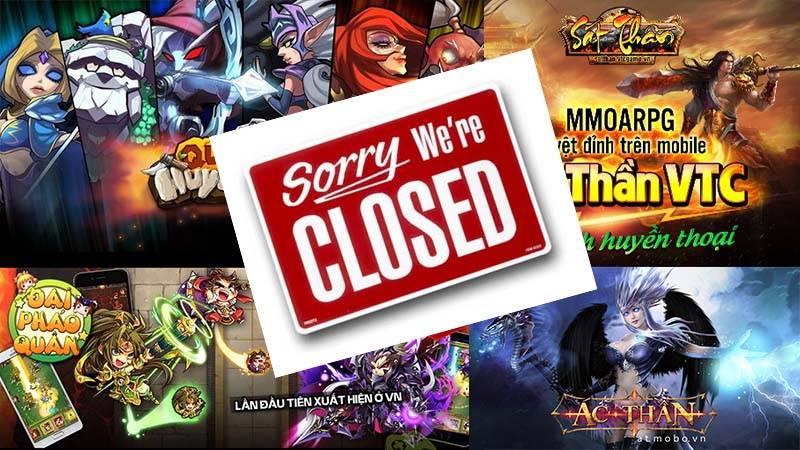 Tổng hợp những Game mobile online đóng cửa năm 2015