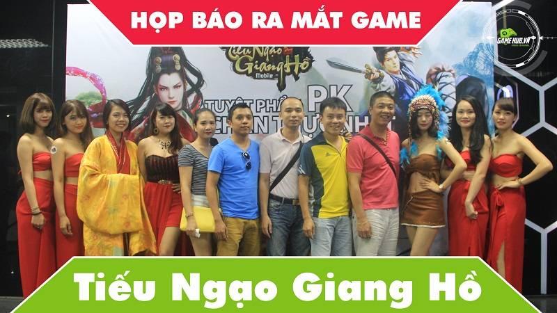 Toàn cảnh họp báo ra mắt game Tiếu Ngạo Giang Hồ Mobile