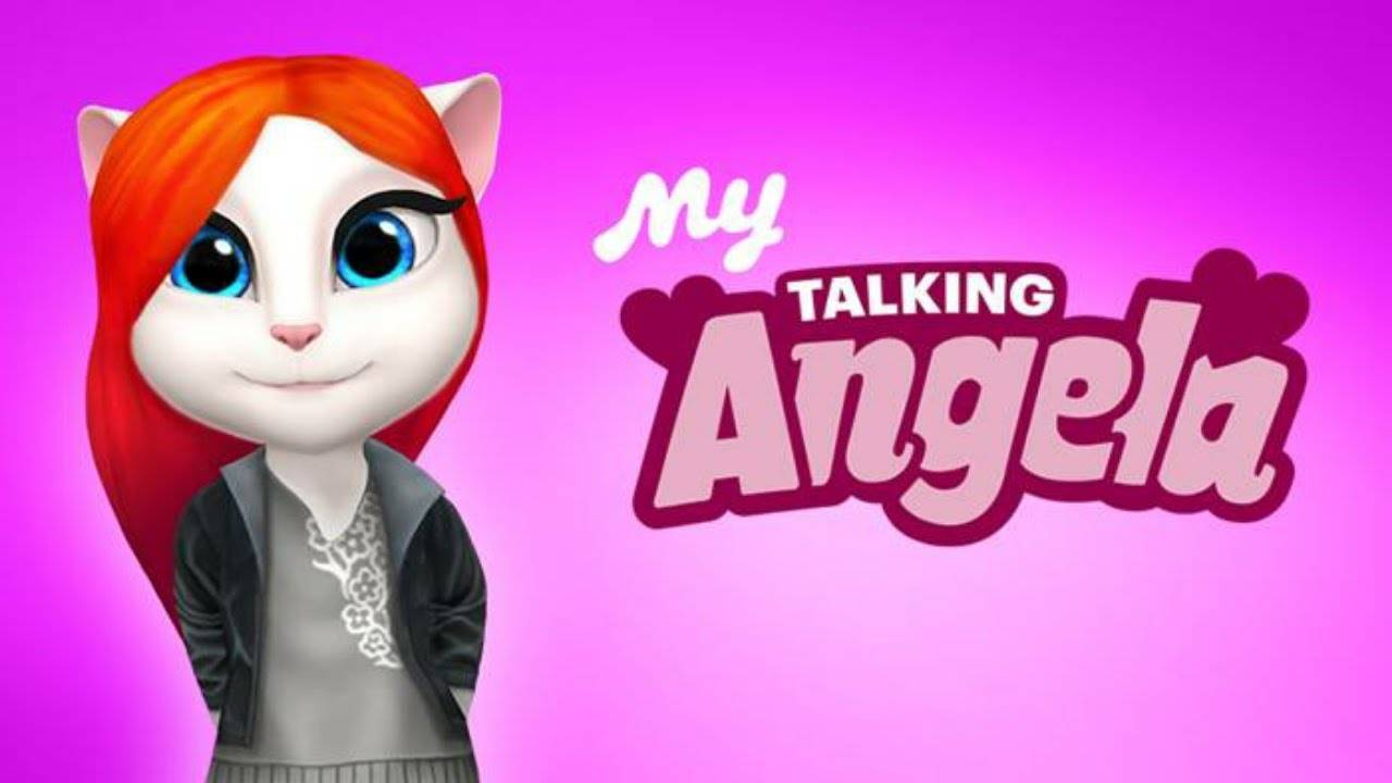 Trải nghiệm game My Angela - My Talking Angela