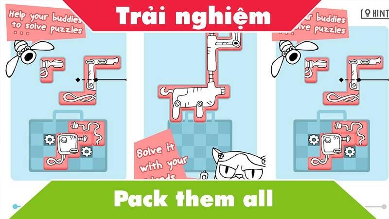 Pack Them All - Game mini đóng gói đồ vào vali - iOS