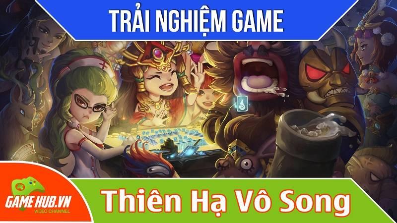 Trải nghiệm game sắp ra Thiên Hạ Vô Song - VTC Mobile