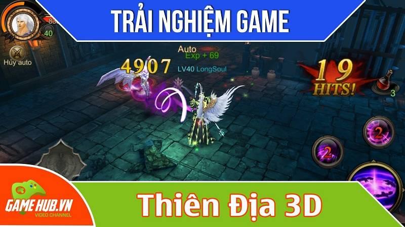 Trải nghiệm game Thiên Địa 3D sắp ra mắt - VTC Game