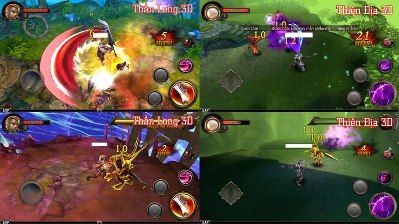 Thiên Địa 3D bị game thủ tố giống Thần Long 3D đến lạ lùng