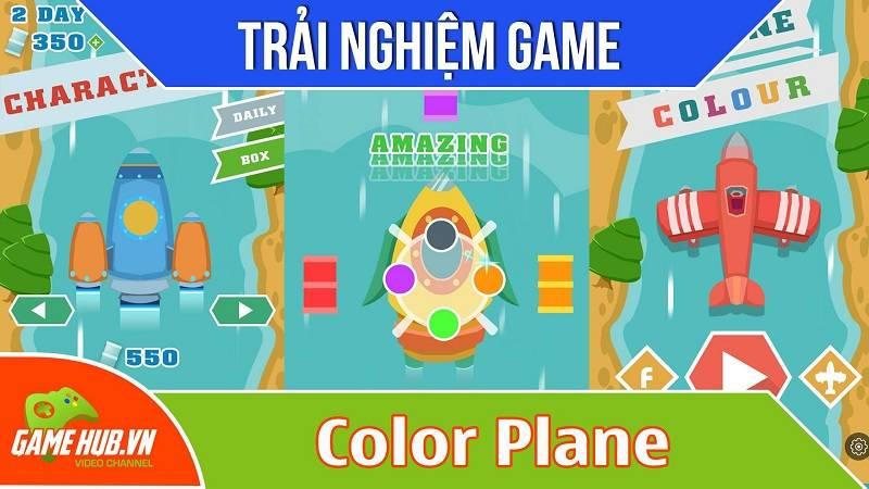[Bluebird games] Color plane - Game điều khiển phi cơ nạp nhiên liệu - Android