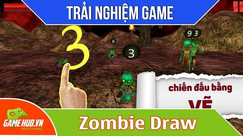 [Bluebird games] Zombie Draw - Game phá vòng vây zác sống - Android