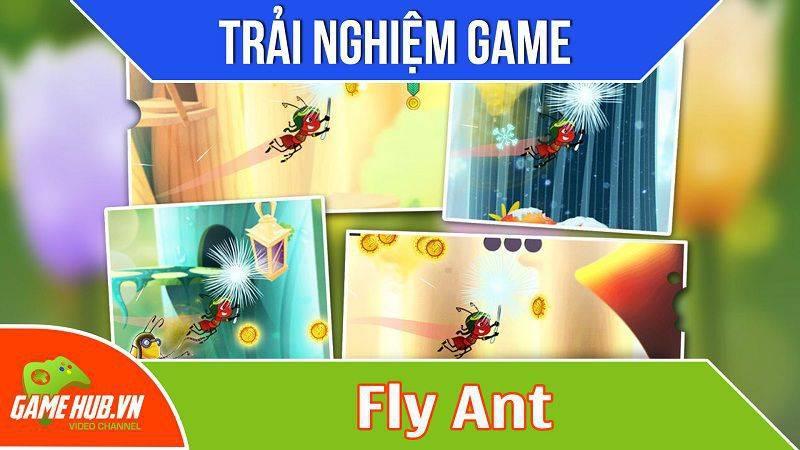 [Bluebird games] Fly Ant - Game cuộc phiêu lưu của hiệp sĩ kiến - iOS/Android