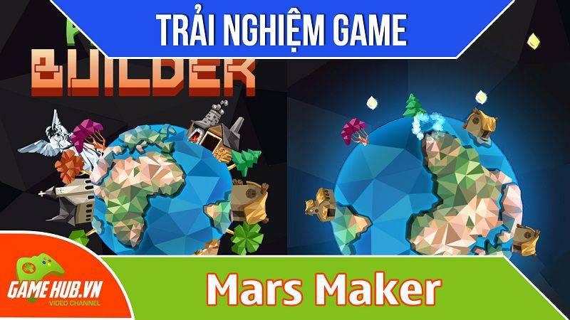 [Bluebird games] Mars Maker - Game trồng cây xây hành tinh - iOS/Android