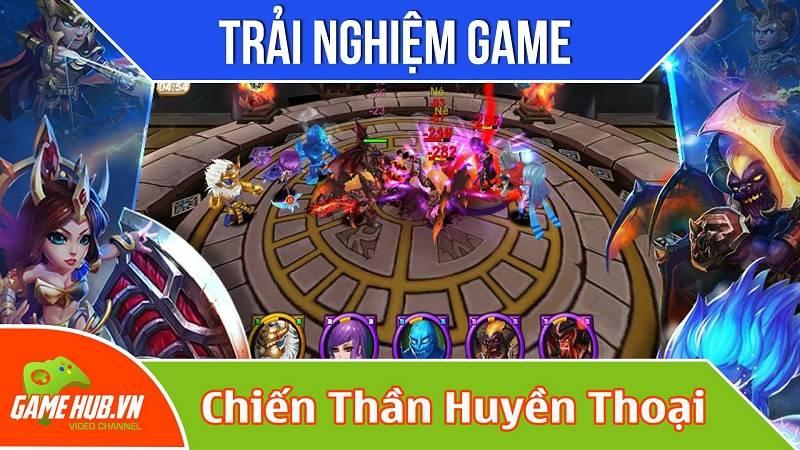Trải nghiệm game Chiến Thần Huyền Thoại ra mắt 20/10/2015 - VGG
