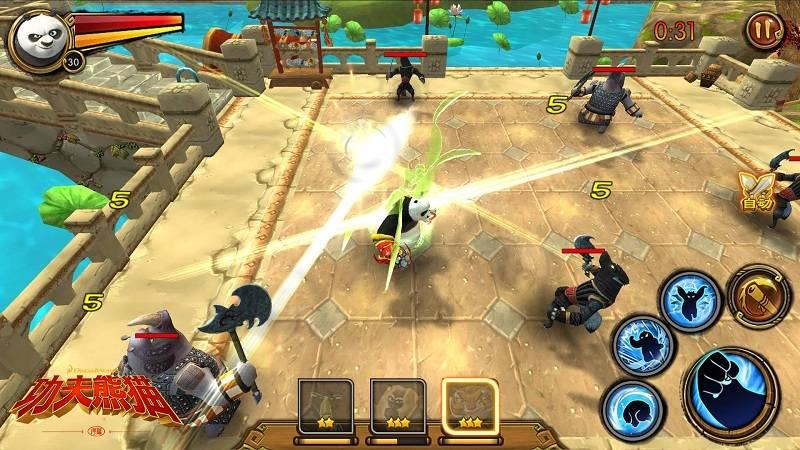Luận võ cùng Kungfu Panda Mobile trong đợt Alpha Test vào ngày 22/10