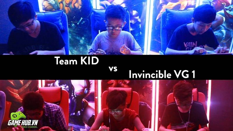 [Vainglory Kids] Team battle Invincible VG 1 vs Lord