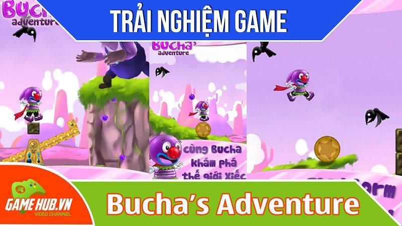 [Bluebird games] Bucha's Adventure - Game cuộc phiêu lưu của chàng hề - iOS/Android