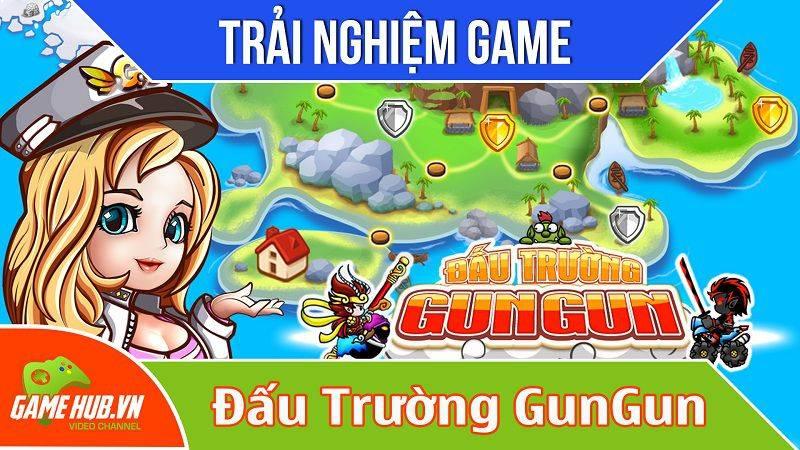 [Bluebird games] Đấu trường Gungun - Game Gunbound trên mobile - Android