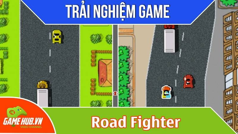 [Bluebird games] Road Fighter - Game đua xe mini tốc độ cao - iOS/Android