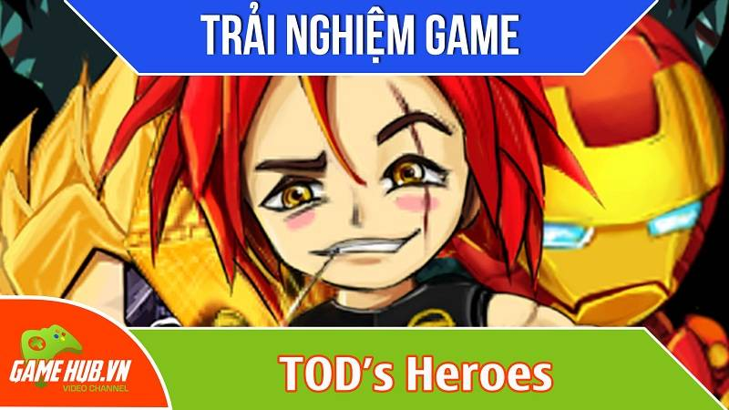 [Bluebird games] TOD's Heroes - Game anh hùng cứu chúa - Android