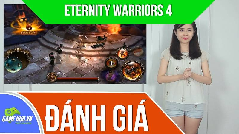 Đánh giá game Eternity Warriors 4 - Glu Games