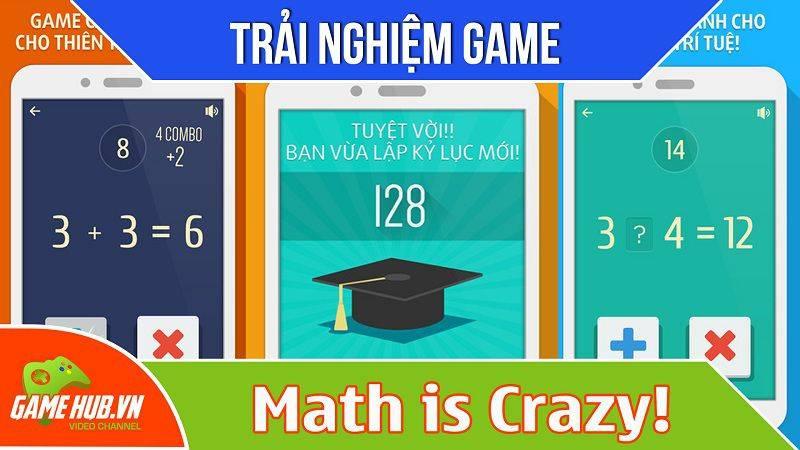 [Bluebird games] Math is Crazy - Game giải toán dễ mà khó - iOS/Android