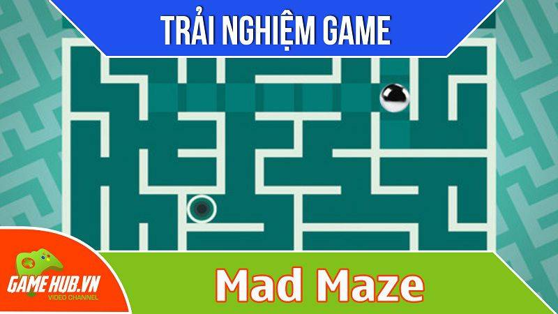 [Bluebird games] Mad Maze - Game giải mã mê cung - iOS/Android