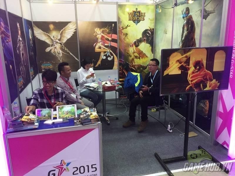 [G-star 2015] 9Fury bất ngờ tung bom tấn tại triển lãm game lớn nhất Hàn  Quốc