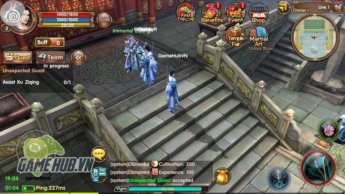 Trải nghiệm Age of Wushu: Dynasty - Cửu Âm Chân Kinh Mobile Beta ngay từ  bây giờ