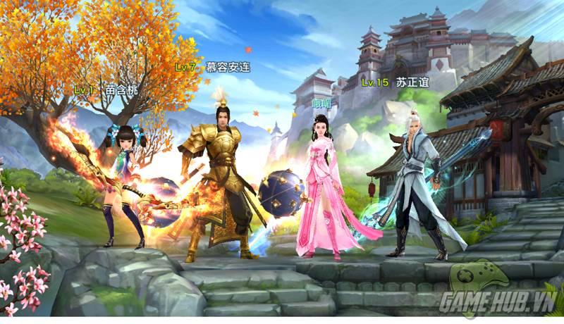 Kết quả hình ảnh cho game Võ Lâm Truyền Kỳ mobile