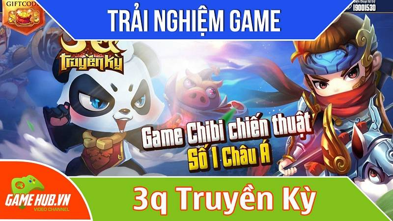 Trải nghiệm sớm game 3Q Truyền Kỳ ra mắt 26/11/2015 - VTC Mobile