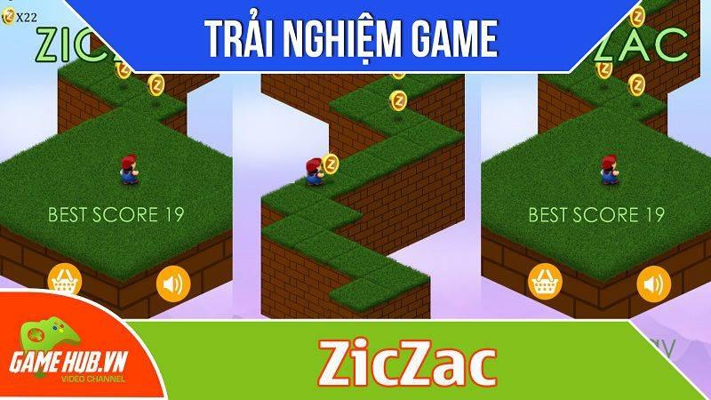 [Bluebird games] ZicZac - Game Mario lượn đường nhặt vàng - iOS/Android