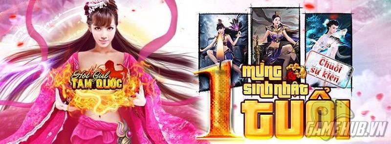 Tròn 1 năm ra mắt game thủ Việt, Hot girl Tam Quốc cập nhật hệ thống thần thú mới