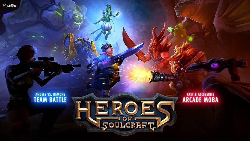 Trải nghiệm game MOBA Heroes of SoulCraft