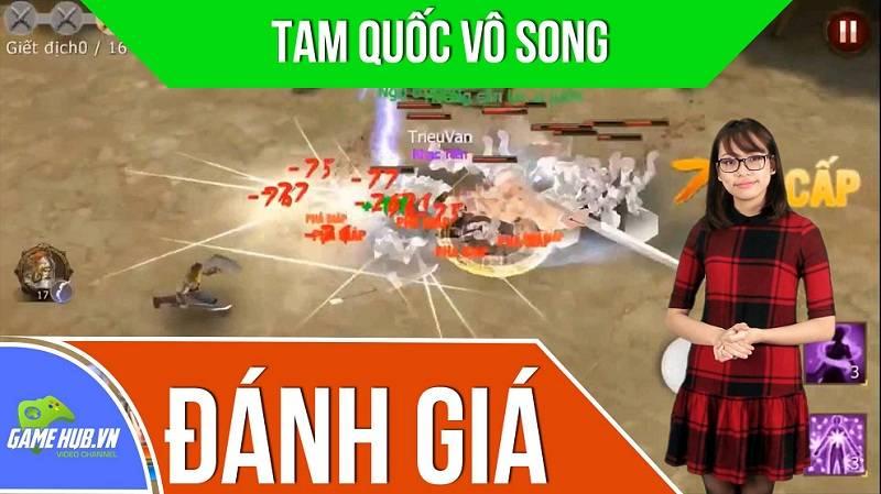 Đánh giá game MMORPG Tam Quốc Vô Song