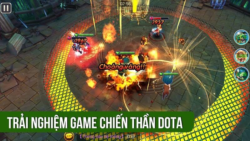 Trải nghiệm game Chiến Thần DOTA ra mắt 4/1/2016 - VTC Game