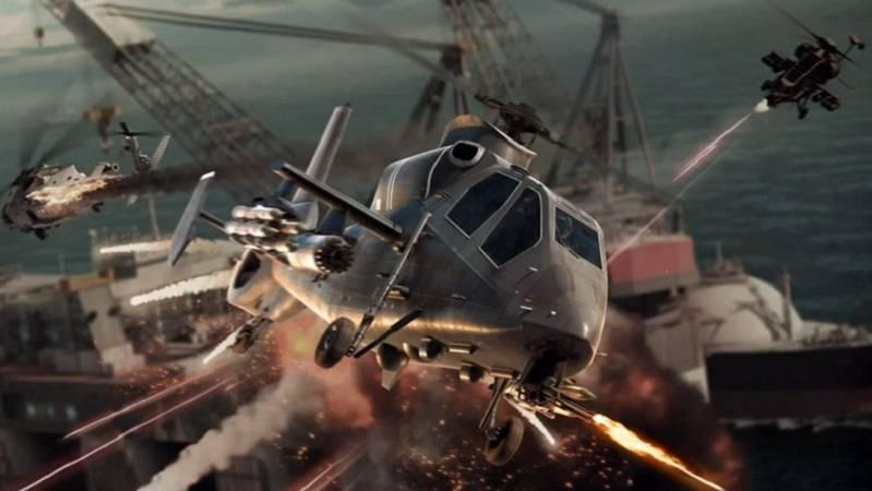 Trải nghiệm game bắn máy bay Battle Copters