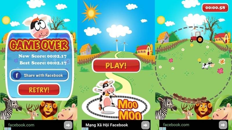 Giải trí đến ức chế với game mobile Việt Go MooMoo