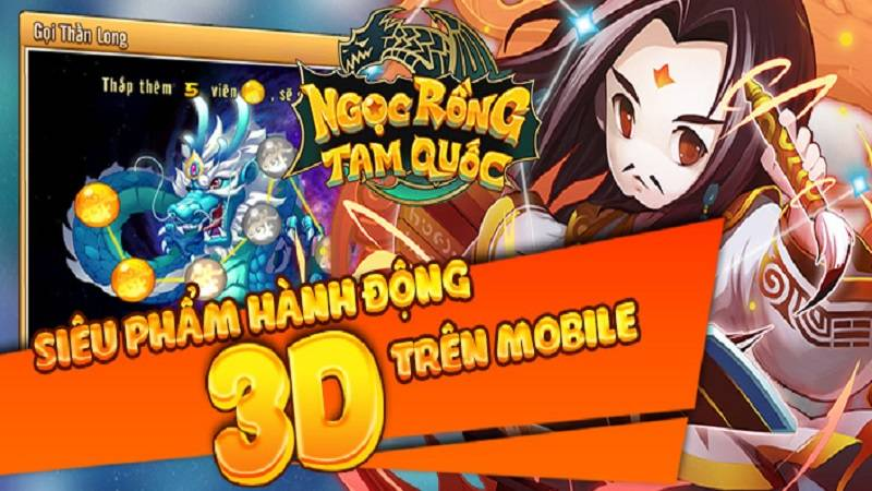 game android, game ios, gmo, mmo, ngoc rong tam quoc, ngọc rồng tam quốc