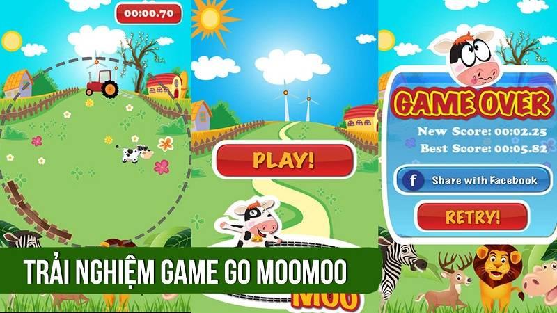 Trải nghiệm game Việt ức chế Go MooMoo