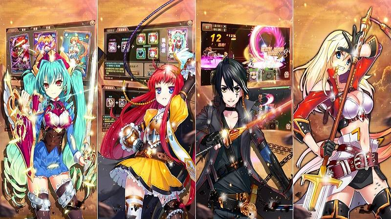 de che manga, gabriel, game android, game ios, gmo, mmo, đế chế manga