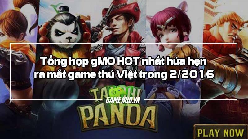 Top game mobile online Việt ra mắt tháng 2/2016