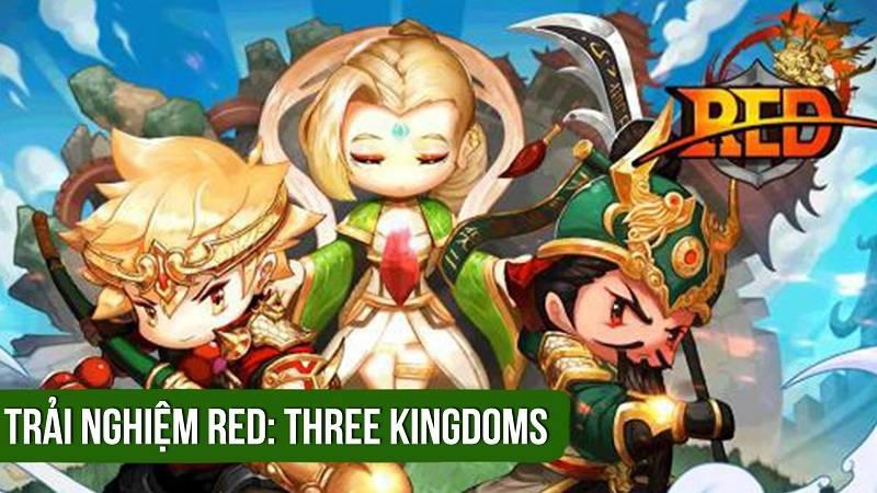 Trải nghiệm bản test game Red: 3 Kingdoms