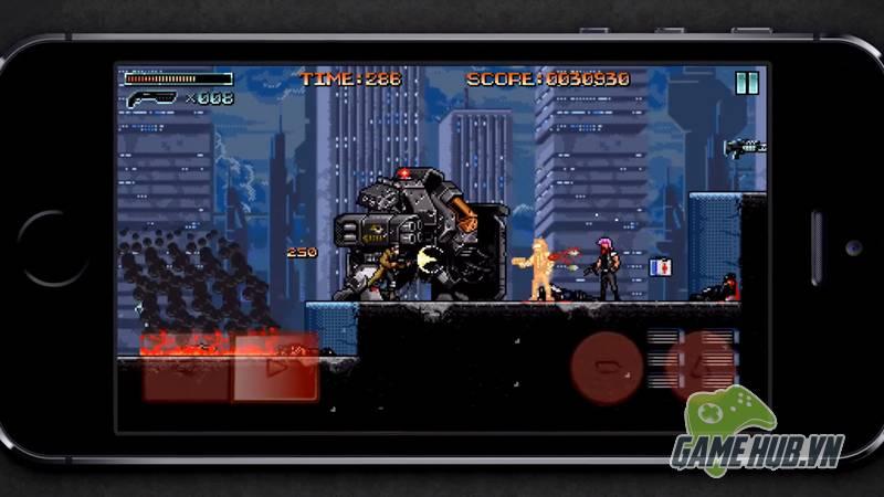 Huntdown - Game bắn súng điên cuồng đúng chuẩn bốn nút - ảnh 1