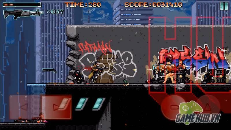 Huntdown - Game bắn súng điên cuồng đúng chuẩn bốn nút - ảnh 3