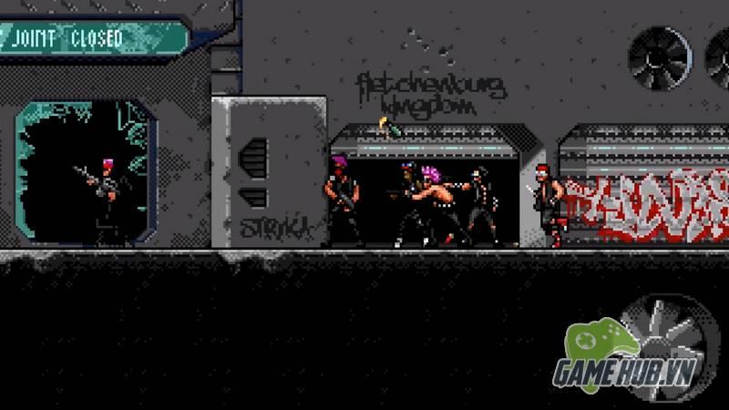 Huntdown - Game bắn súng điên cuồng đúng chuẩn bốn nút - ảnh 5